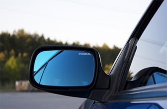 US Made Door Mirror Glass Passenger Side For Subaru Forester Impreza WRX