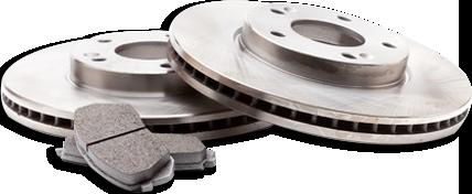 Subaru brake rotors and pads
