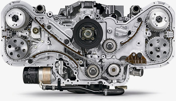 Subaru EZ30 H6 engine